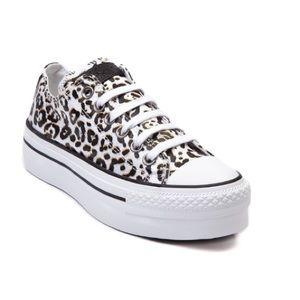 Leopard Platform Chuck Taylor All Star Sneakers